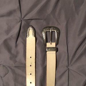 Urban Outfitters Silver Belt